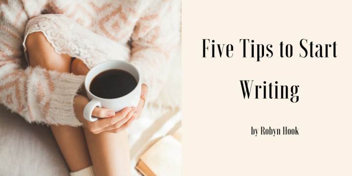 5 tips to start writing