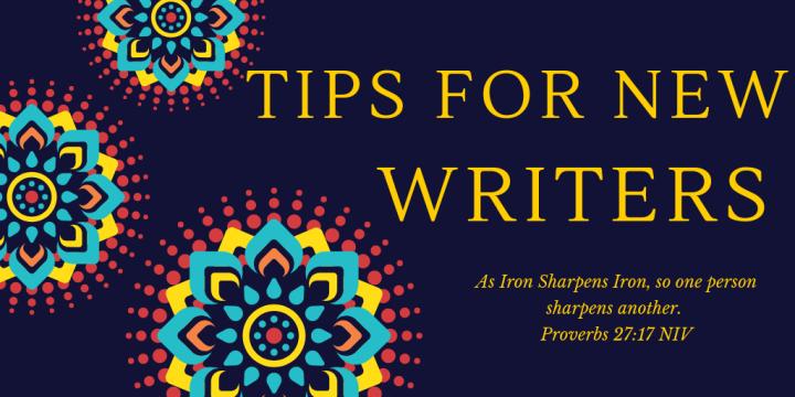 New Writer Advice & AuthorInterview